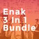 Enak Bundle 3 In 1 Google Slides - GraphicRiver Item for Sale