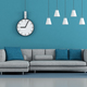 Blue minimalist living room - PhotoDune Item for Sale