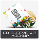 CD Sleeve Cover Mock-Up v.02 - GraphicRiver Item for Sale