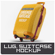 Luggage Suitcase Mock-up - GraphicRiver Item for Sale