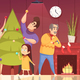 Christmas Cartoon Illustration - GraphicRiver Item for Sale