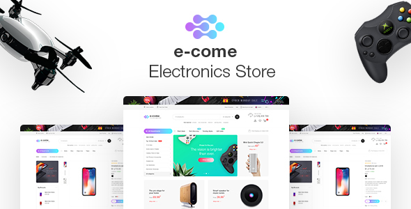 Image of Ecome -  Multi Purpose WooCommerce Shop Theme