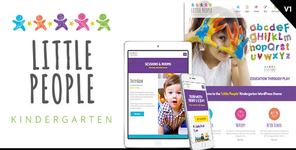Image of Little People | Kindergarten HTML Template