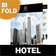 Hotel Bifold / Halffold Brochure 8 - GraphicRiver Item for Sale