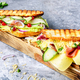 Sandwiches on cutting board - PhotoDune Item for Sale