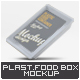 Plastic Food Tray Mock-Up