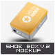 Shoe Box Mock-Up v.2 - GraphicRiver Item for Sale