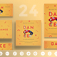 Dancing School Social Media Pack - GraphicRiver Item for Sale