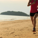 Runner running on beach - PhotoDune Item for Sale