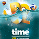 Pool Time Flyer - GraphicRiver Item for Sale
