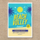 Beach Volleyball Flyer - GraphicRiver Item for Sale