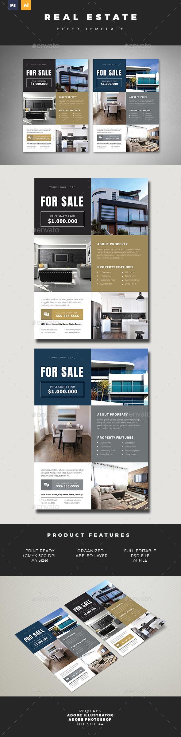 Real Estate Flyer 03 - Commerce Flyers