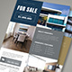 Real Estate Flyer 03 - GraphicRiver Item for Sale