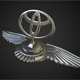toyota hood ornament - 3DOcean Item for Sale