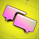 Futuristic Text Alert or Modern Game Notification