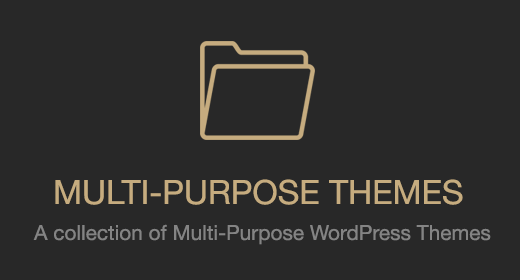 Multi-Purpose Themes