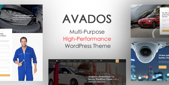 Avados - Multi-Purpose High-Performance WordPress Theme