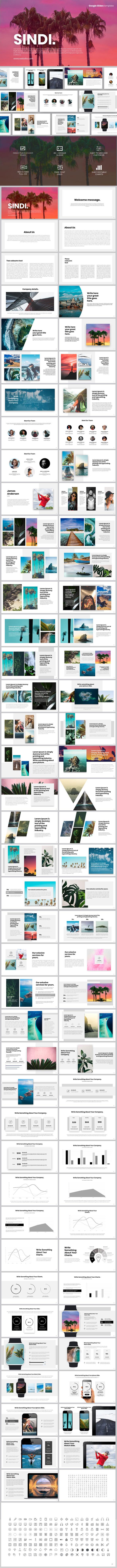 Sindi Google Slides - Google Slides Presentation Templates