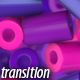 Purple Cylinders Transitions - VideoHive Item for Sale