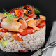 Smoked Salmon On Spelt With Vegetables - PhotoDune Item for Sale