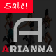 Arianna - Clean & Simple Blog/Magazine Theme - ThemeForest Item for Sale