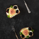 Toast With Cheese Figs And Blackberries - PhotoDune Item for Sale