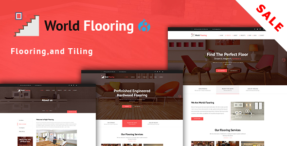 World Flooring – Flooring, Tiling & Paving Services Drupal 8.4 Theme