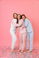 Full length photo of three happy women 20s wearing leisure cloth - PhotoDune Item for Sale