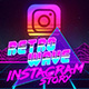 Retro Wave Instagram Story - VideoHive Item for Sale