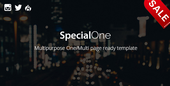 Image of SpecialOne - Multipurpose One/Multi Pages Ready Drupal Theme