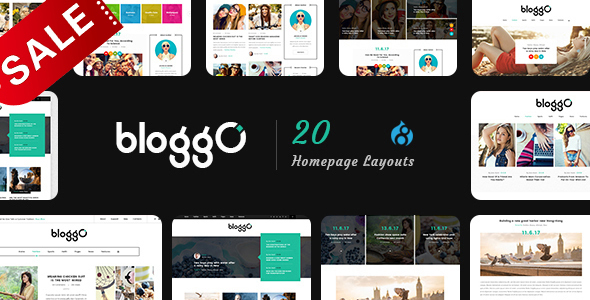 Image of Bloggo - Multipurpose Blog Drupal 8.4 Theme