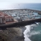 Yacht Parking and Beach on the Coast of Tenerife - VideoHive Item for Sale