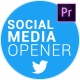Social Media Opener for Premiere - VideoHive Item for Sale