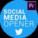 Social Media Opener for Premiere - VideoHive Item for Sale