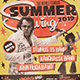 A3 Retro Summer Poster / Flyer Music Template - GraphicRiver Item for Sale