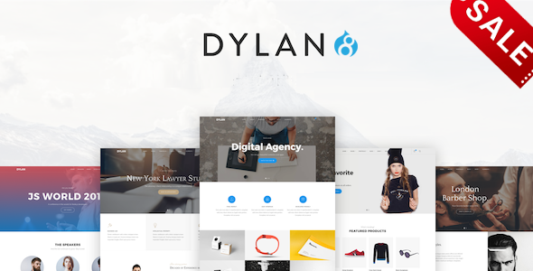Image of Dylan - Responsive Multi-Purpose Drupal 8.5 Theme