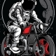 Astro Rider - GraphicRiver Item for Sale