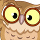 Owl with Glasses - GraphicRiver Item for Sale