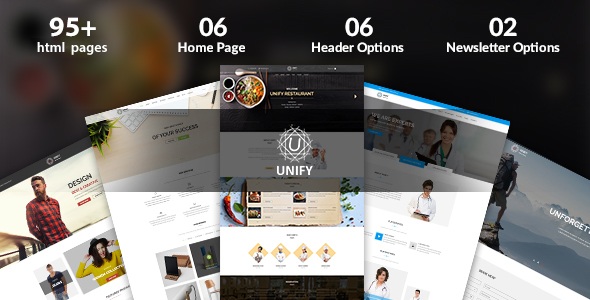 Image of Unify – Multipurpose Joomla Template