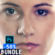 Skin Retouching Actions Bundle - GraphicRiver Item for Sale