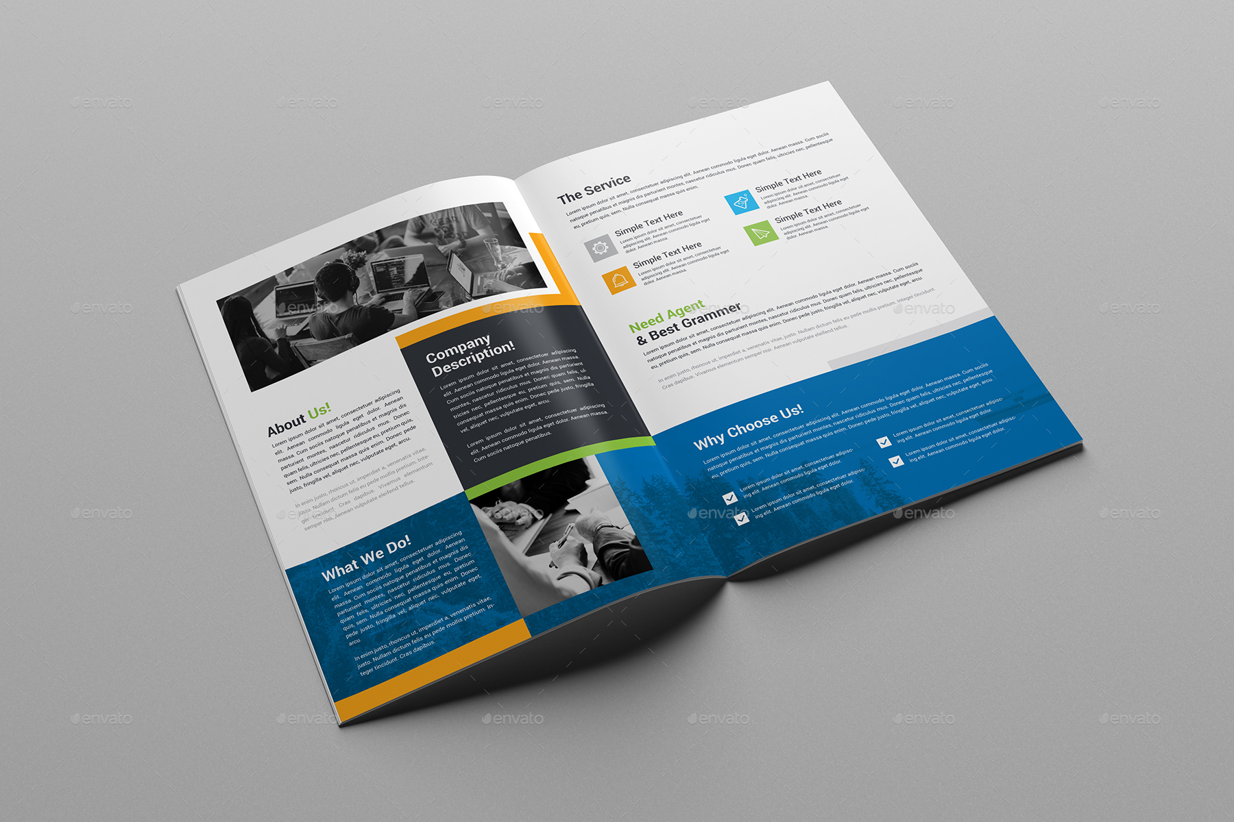Bi fold brochure template by generousart graphicriver bi fold brochure template corporate brochures preview image set01bifold brochureimageg saigontimesfo