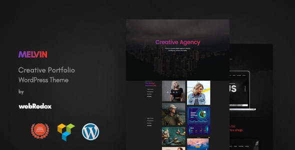 Melvin - Portfolio WordPress Theme