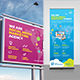 Social Media Marketing Roll-Up & Billboard Bundle - GraphicRiver Item for Sale