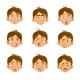 Caucasian Boy Set - GraphicRiver Item for Sale