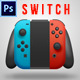 The Switch Console Mock-Up - GraphicRiver Item for Sale