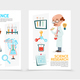 Flat Scientific Research Posters - GraphicRiver Item for Sale