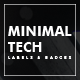 Minimal Tech Label and Badges - GraphicRiver Item for Sale