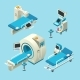 Vector Isometric Medical Diagnostic Equipment Set - GraphicRiver Item for Sale