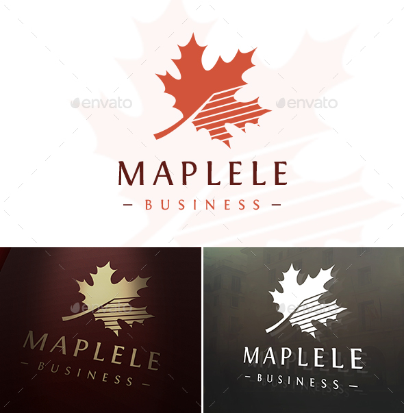 Maple Logo Template - Nature Logo Templates
