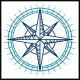 Old Compass Navigation Logo